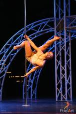 Vilma Virenius in PoleArt Cuprys competition 2014.
