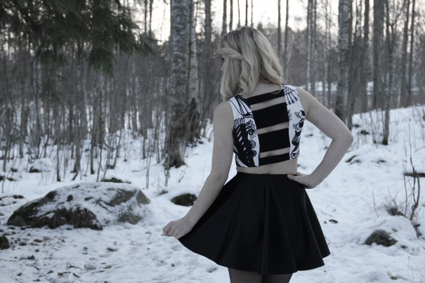 Top is made from Susanna Sivonen's fabric.