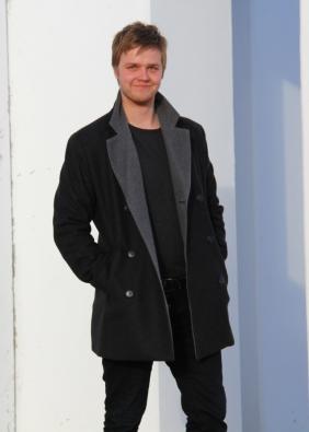 Men's classical wool jacket